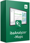 Display geographic positions and movement - ibaAnalyzer-Maps