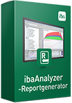 Automated generation of reports - ibaAnalyzer-Reportgenerator